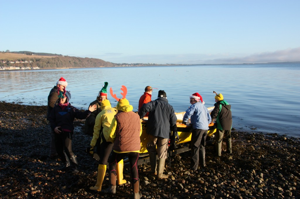 Christmas day launch